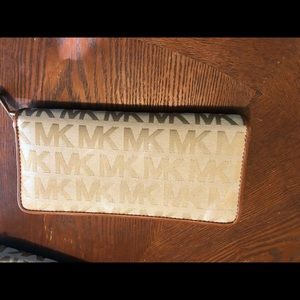 Michael Kors Bags - MK Brown and Tan Wallet